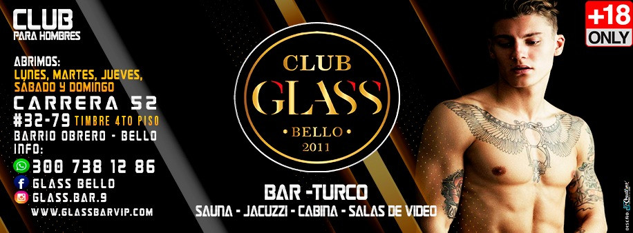 Glass Vip [BELLO][MEDELLIN]