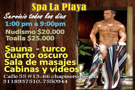 La Playa - Sauna Turco Video [BOGOTA]